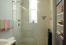 Old Town Condo Modern Bathroom