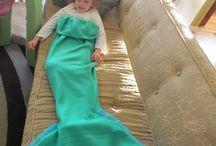 Kuscheldecke Mermaid