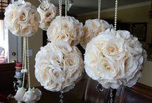 Flower Ball for wed decor