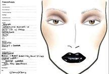 face charts / by Heidi Abbott