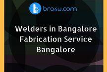 Welding & Fabrication Works Bangalore