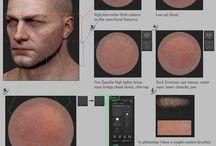zbrush Face-Skin- tuts