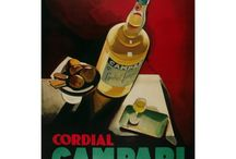 Vintage alcohol posters