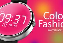 Color Fashion Watch Face / Download the Color Fashion Watch Face here: http://bit.ly/1EovkhM