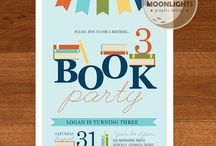 Book Party Ideas