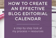 **Editorial + Content Calendars
