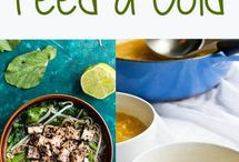 Cold + Flu Sick Day Recipes