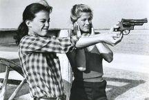Vintage girls and guns