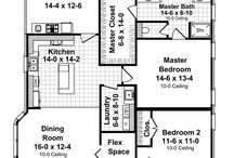 house plan ideas / Just pinning for layout ideas. For the customers who don't know what they want but want it built next week.