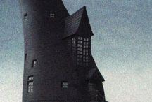 The Lovegood 'Castle' / Luna and Xenophilius Lovegood