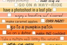 Seasonal: Fall / General ideas for fall / by Erin Hallmark