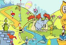 Dr. Seuss / by Stephanie Pudlowski