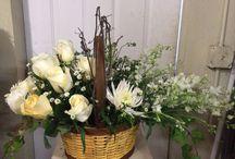 Church flowers / Winter wedding