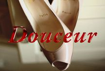 La Douceur / The softer side of Louboutin in dreamy nudes and blush tones.