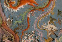 Simurg / Anka kuşu - İslam sanatlarında / Phoenix in islamic art