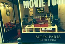 How we made our amazing Box Office / We had so much fun on a budget coming up with ideas and putting together everything movie related.   Come visit our new Box Office in Paris