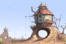 Art - Architecture & Setting / by Alycia Turpin