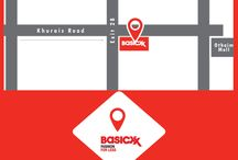 Location Map / Basicxx Store Location Map