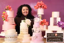 """My Craftsy Classes! / My latest class """"Building Better Cakes - Creative Cake Separators"""" / by Just Cake - Marina Sousa"""