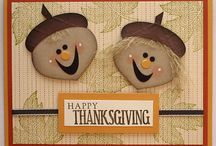 Cards Holiday - Thanksgiving/Fall