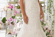 wedding dress molett