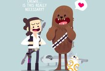 Solo n Chewie