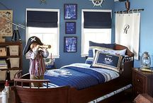 Boy Bedrooms & Nurseries / Ideas for my future kiddos. / by Nichole Diluzio
