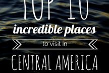 Travel // Central America / Travel inspiration from beautiful Central America: Nicaragua, Honduras,Guatemala, Panama, Costa Rica, Belize, El Salvador