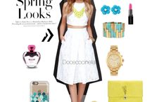 Spring 2015 / Outfit whithe spring summer 2015