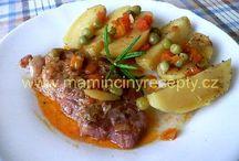 maso v kuchte naraz