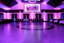 Dekoracja światłem / Sala weselna Pawie Oczko Dekoracja światłem #decoration #light  http://pawieoczko.eu/