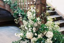 STAIRCASES / Staircase inspiration. This board is a mixture of our designs and other floral designers.
