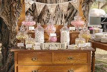 Wedding Sweet Bar Ideas