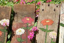 Terraços e jardins