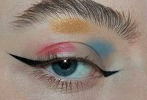 multi color makeup