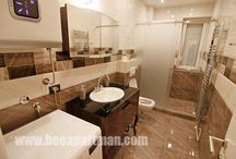 Show me the bathroom and I'll... / There are bathrooms and there are Bath Rooms. These we consider stunning