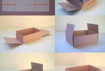 Krabičky, sáčky, mašle / Návody na domácí krabičky na dárky, ozdobné mašle a pěkné nápady na balení dárků