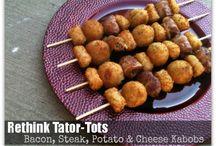 Tasty Tator Tot stuff / by Kimberly Bernards