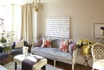 Home Decor Ideas / Concepts and colors I'd like to use. / by Danielle Sheppard