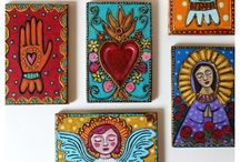 Mexican Art / Inspiration for your mandala practice with Mexican art, colors, and patterns.