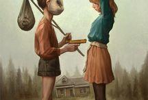 ilustraciones / by Laura Moreno Rodríguez