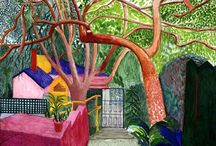 artists i like David Hockney