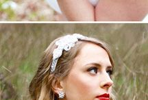 Accessorize your wedding day, jewelry, hair and everyting else / Wedding accessories, jewelry, jewellery, hairbands, hair combs and everything else to beautify on your wedding day / by atraceofblue