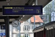 Eisenbahn, Dampfbahn, und andere Bahnen der Schweiz
