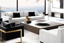 Living + Dining / living room + dining room interior design