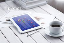 Tablet Invoice Financial Technology Apps / Tablet Invoice FinTech