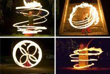 Fire displays