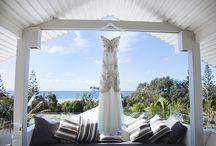 Byron Bay Brides and Dresses / Dreamy Byron Beach Cafe wedding dresses.  For more wedding inspiration go to www.byronbeachcafe.com.au