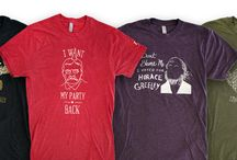 Historic T-Shirts / Celebrating America's history (the good and not so good) with t-shirts.