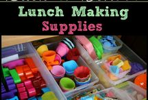School lunch / Looking for cute and yummy ideas for lunch at school for my little one.